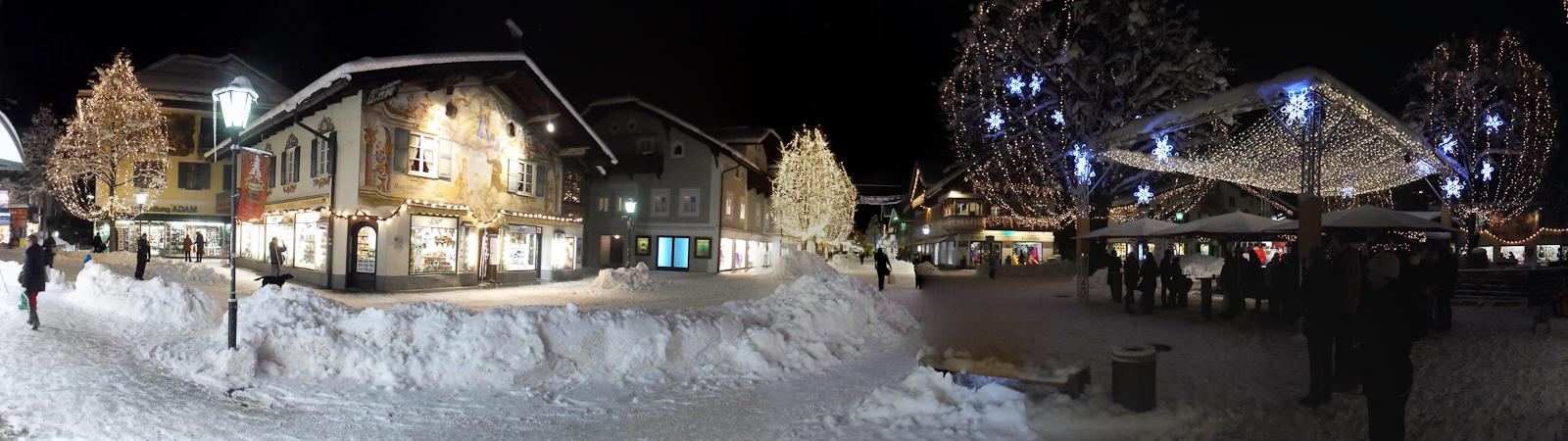 Winterspaziergang durch's vorweihnachtliche Garmisch