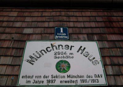 Muenchnerhaus Tafel