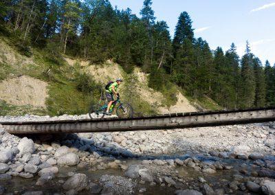 Biken in der Alpenwelt Karwendel