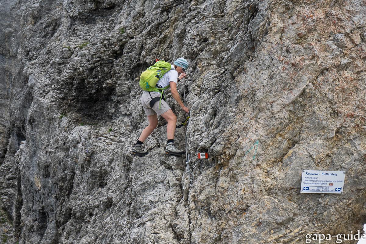 Klettersteig Rucksack : Mein rucksack gapa guide gästeführungen