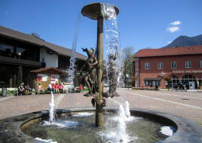 Strauß-Brunnen Garmisch-Partenkirchen