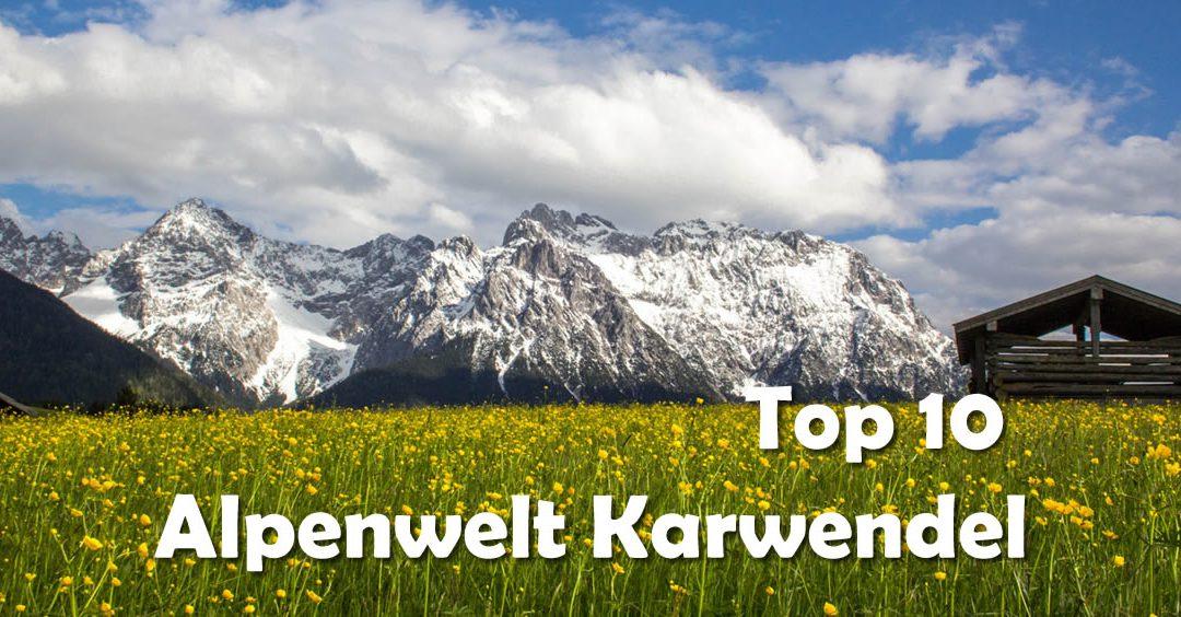 Alpenwelt-Karwendel Hütte auf Wiese