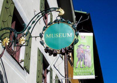 Werdenfels Museum Schild